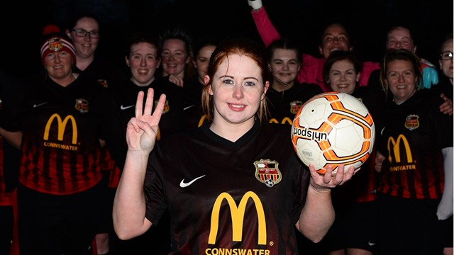 Hat trick Hero Naomi Graham with Match Ball (002).jpg