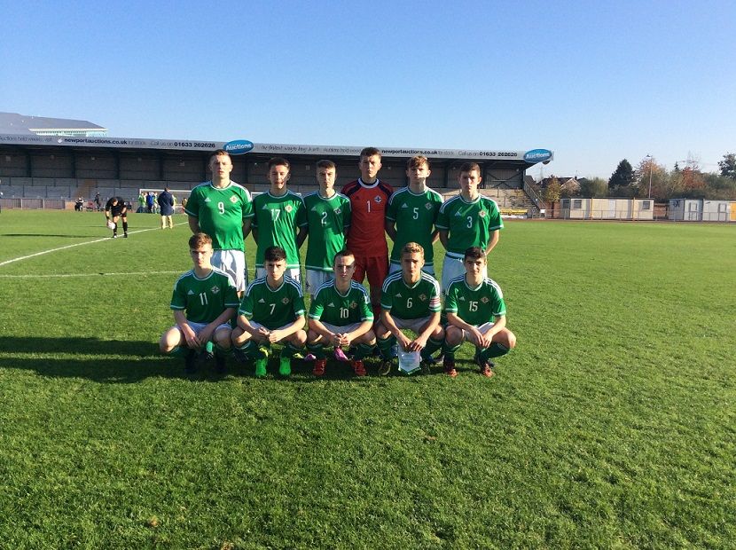 Northern Ireland Held To Draw In Victory Shield