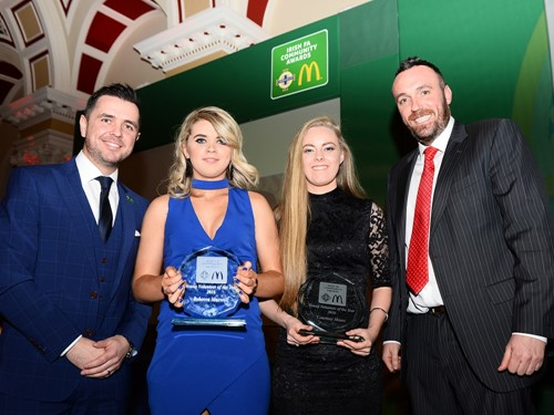 Young Volunteer of the Year - Courtney Moore & Rebecca Maxwell