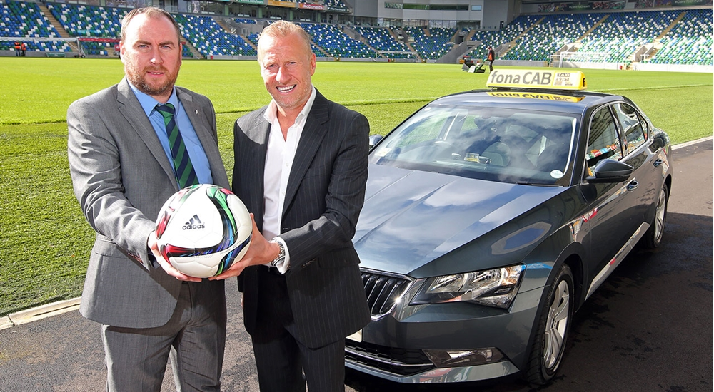 Irish FA signs up fonaCAB as official taxi partner |