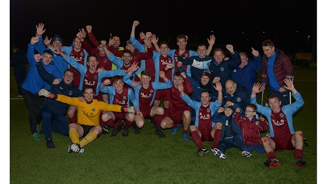 Greenisland celebrate booking place in Junior Cup Final.jpg