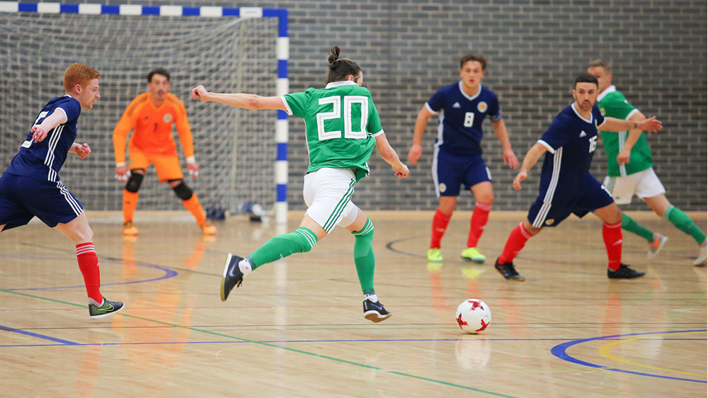 05182acfce9 The Irish FA will be running free Futsal taster sessions starting from 21  July in Belfast.