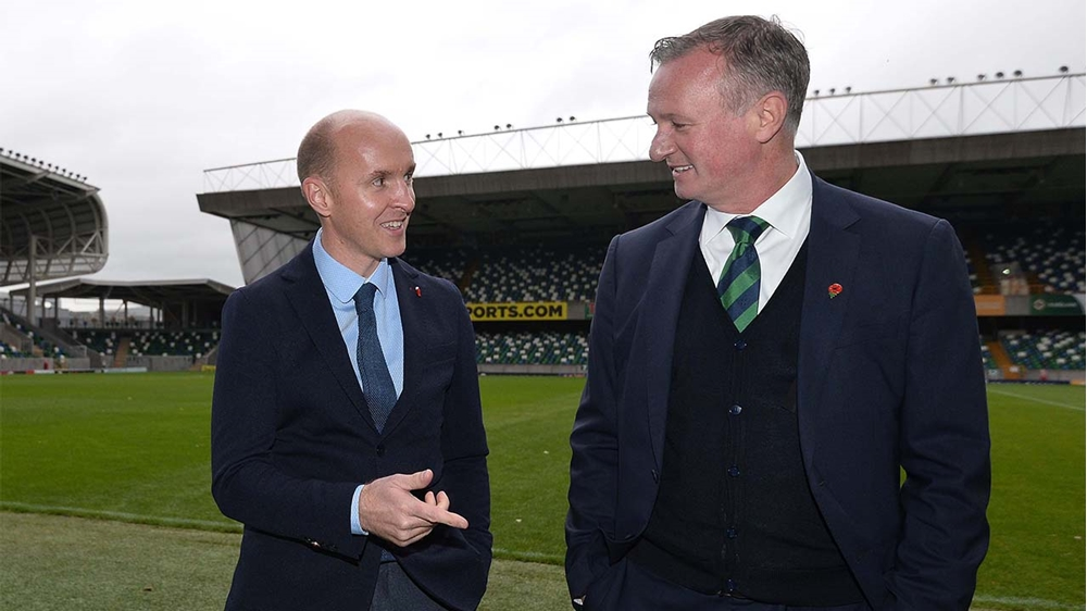 Michael O'Neill and Paddy Tally in joint call for restoration of Curriculum Sports Programme | IFA