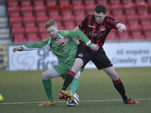 Crusaders v. Newington YC - Irish Cup 2014/15