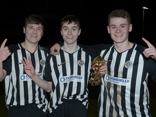 Harry Cavan St Oliver P  Plunkett Goalscorers Eugene Reid (1), MOM Calvin McCurry (3) and Conor McGuckian (1).jpg