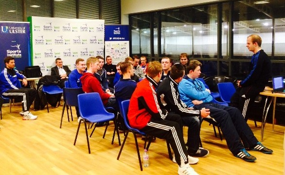 young referees development programme march 2014
