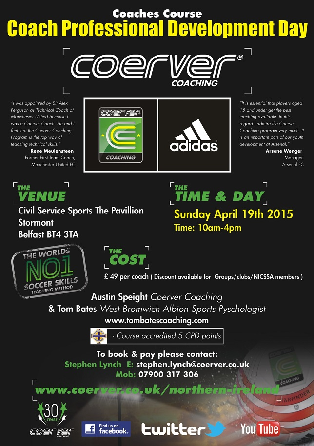Coerver Coach Pro April 15