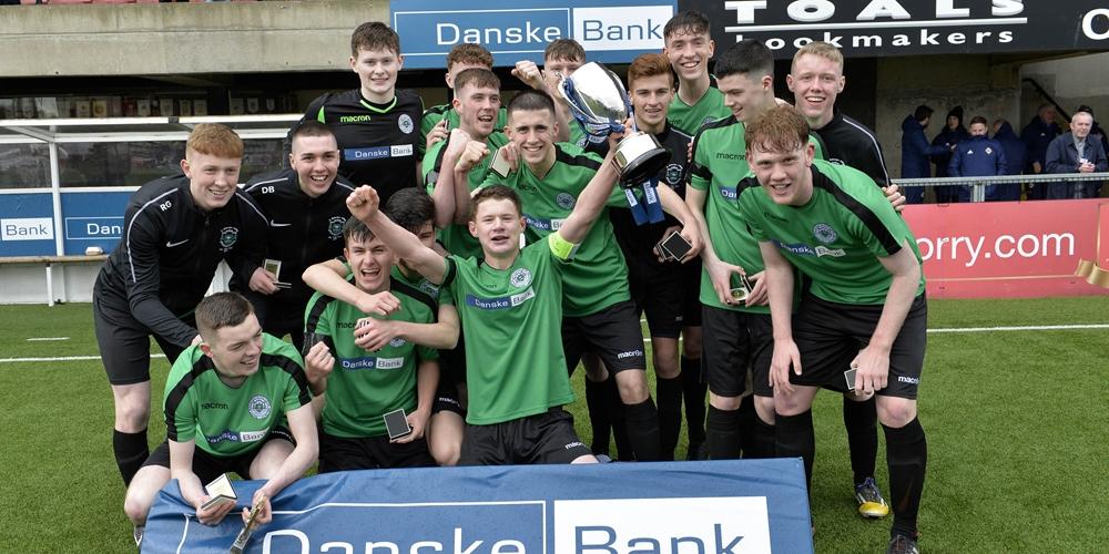 IN PICTURES | St Malachy's see off De La Salle to win Danske Bank NISFA Schools' Cup | IFA