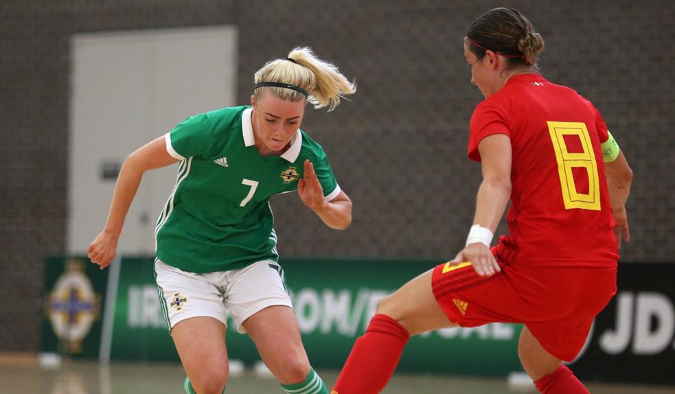 c2dc7162e62 Northern Ireland senior women s futsal squad named a...