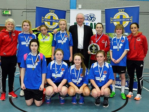 Futsal u17 winners Crusaders