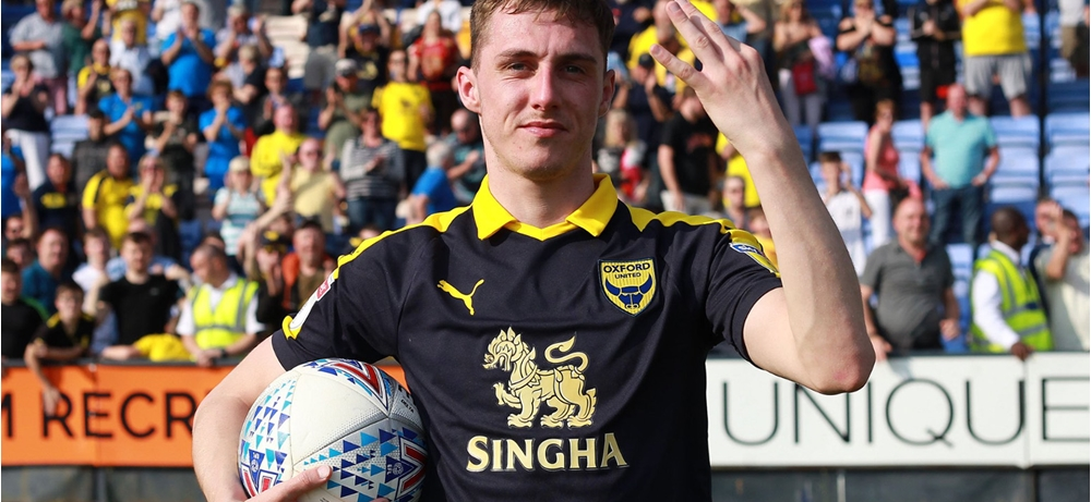ce08225921e Gavin Whyte hits winning hat-trick for Oxford United...