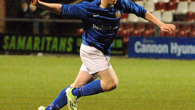 Harry Cavan Youth Cup semi-finals 2014/15