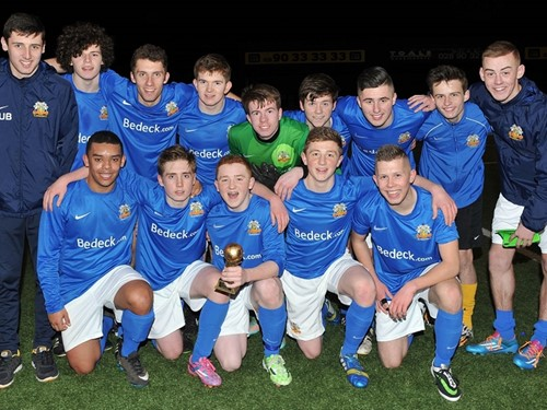 Harry Cavan Youth Cup semi-finals 2014/15 (1)