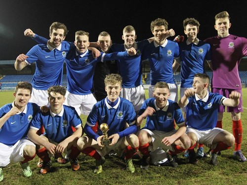 Harry Cavan Youth Cup semi-finals 2014/15 (2)