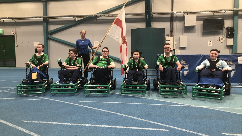 Northern Ireland Powerchair team.jpg