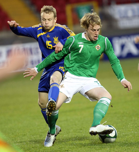 Northern Ireland U21 1-1 Ukraine U21
