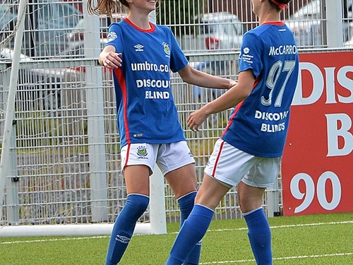 Caitlin McGuinness Celebrates her First Goal.jpg