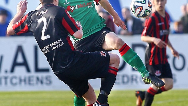 Irish Cup semi-finals 2014/15