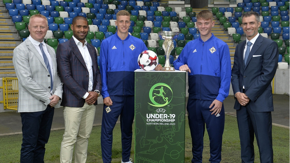 Irish FA launches 2020 UEFA Under-19 Championship at...