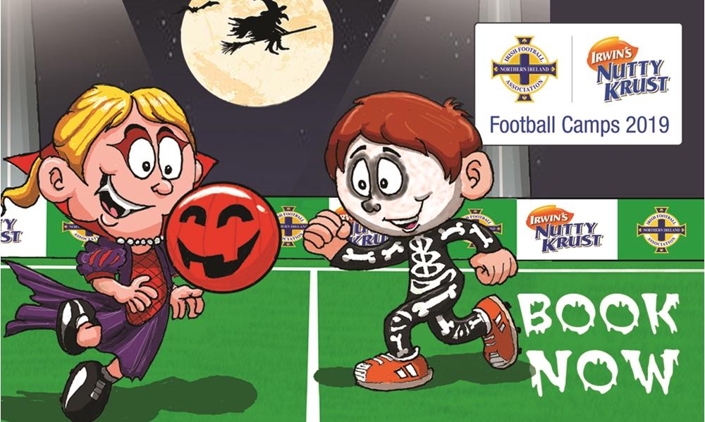 Nutty Krust Irish FA Halloween Football Camps | IFA