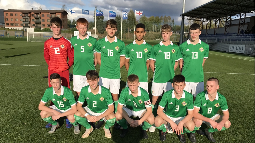 Northern Ireland U16 Schoolboys secure 3-2 win over ...