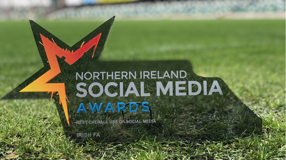 Irish FA scores with top social media award | IFA