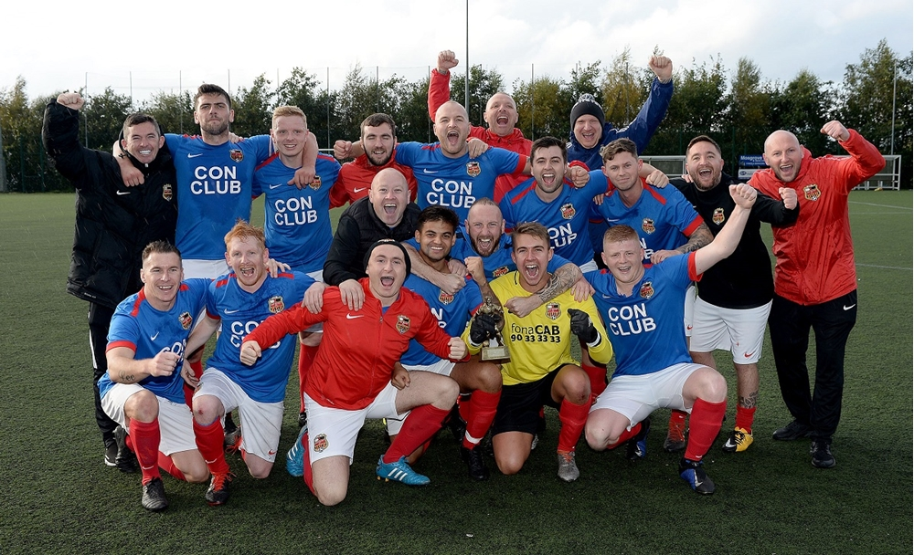 East Belfast II's celebrate their 2-1 win.jpg