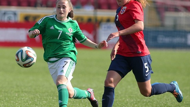 NI U19 Women v Norway