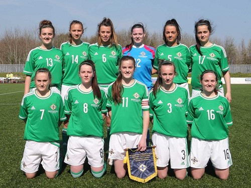 NI U19 Women v Norway (1)