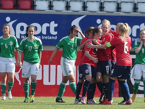 NI U19 Women v Norway (2)