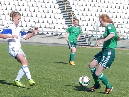 Northern Ireland Under 16 Girls Development squad April 2015 (1)