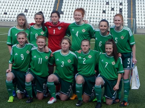 Northern Ireland Under 16 Girls Development squad April 2015 (3)