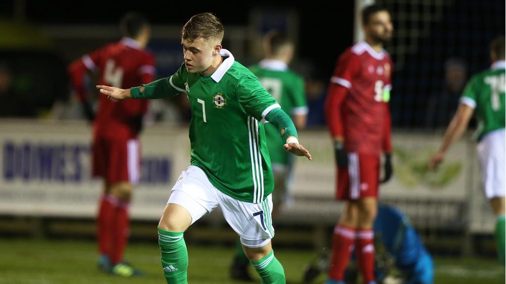 Classy Alfie McCalmont finish earns U21s a draw in f...