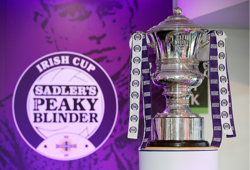 Sadler's Peaky Blinder Irish Cup: Larne and Coleraine set to get cup quarter-final ball rolling | IFA