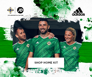 IRLANDE DU NORD irlandais 2020 Euro Cup Football Jersey shirt iron on patch badge