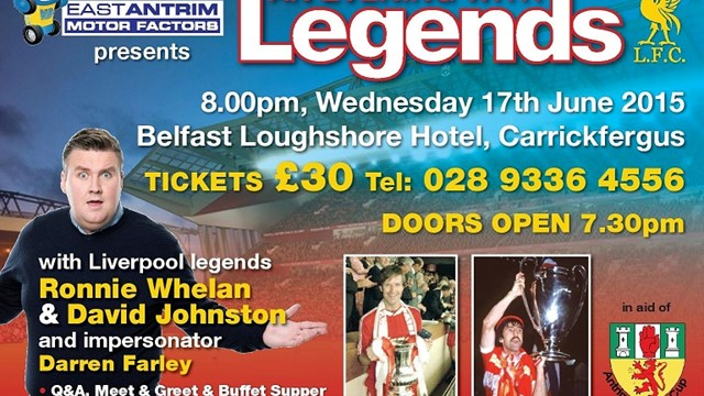 Evening with legends 2015