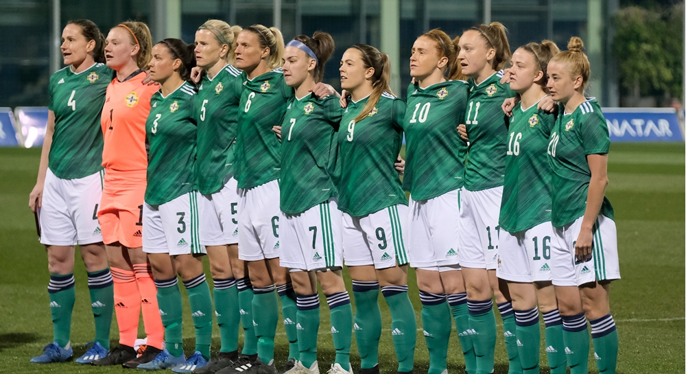 Northern Ireland senior women.JPG