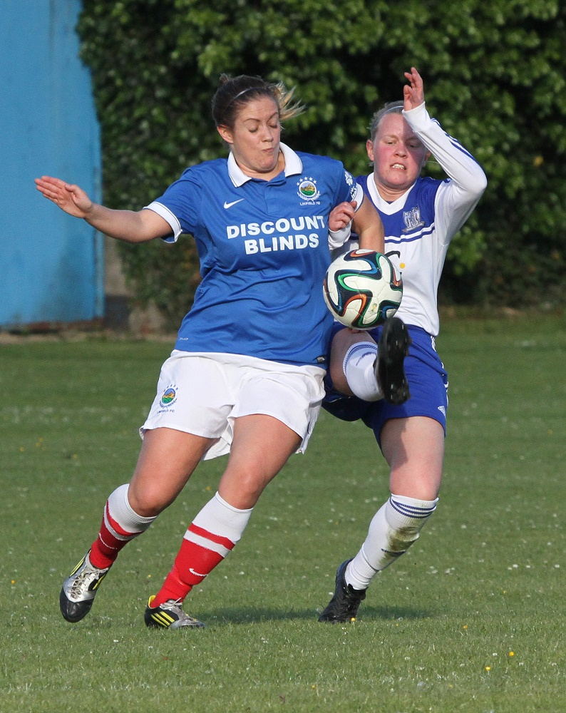 IFA Women's Cup 3rd Round - Newry City Ladies v. Linfield Ladies