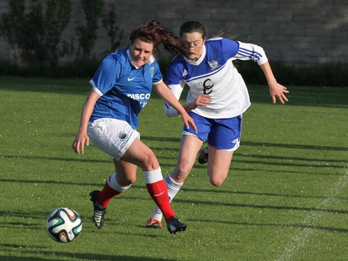 IFA Women's Cup 3rd Round - Newry City Ladies v. Linfield Ladies (1)