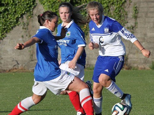 IFA Women's Cup 3rd Round - Newry City Ladies v. Linfield Ladies (2)