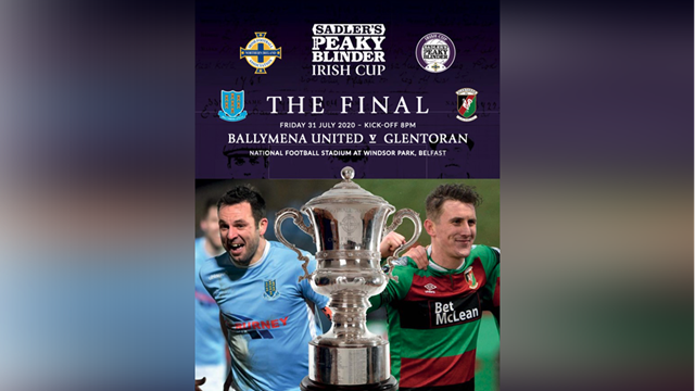 Irish Cup final Match Day programme.png