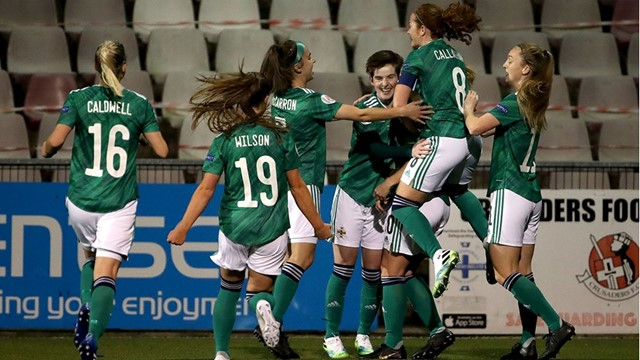 Northern Ireland senior women on brink of securing Women's Euro play-off spot.jpg