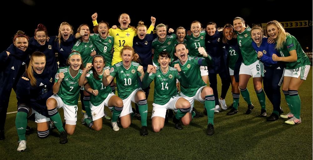 Review of 2020: Northern Ireland senior women's team...