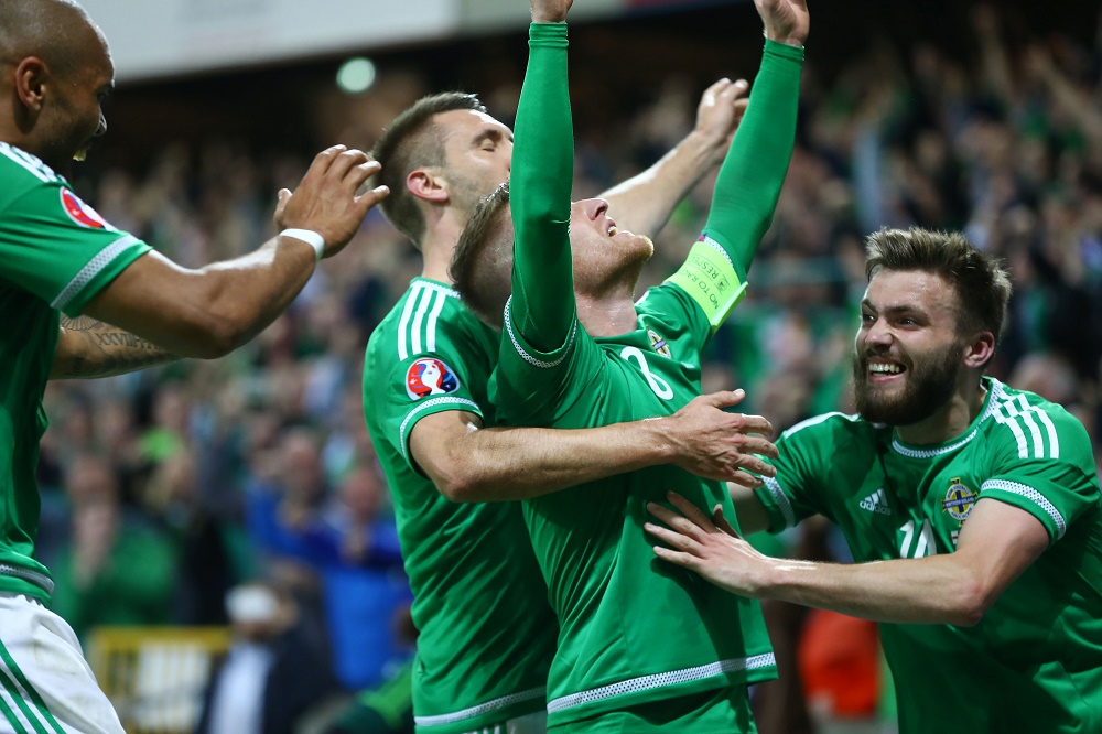 Northern Ireland v. Greece 8th October 2015