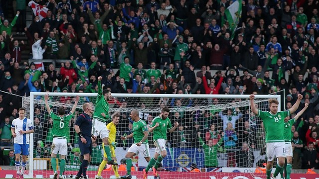 Northern Ireland v Finland March 2015