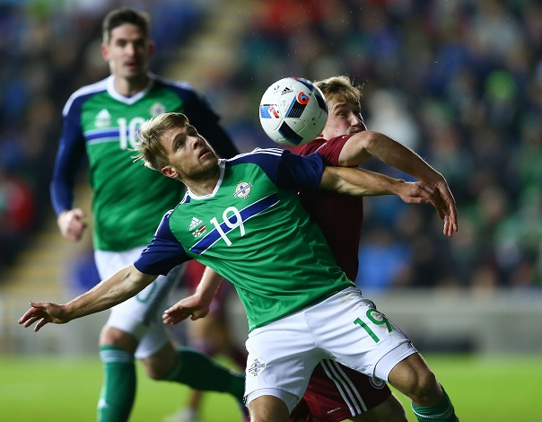 Jamie Ward NI v Latvia 13 November 2015
