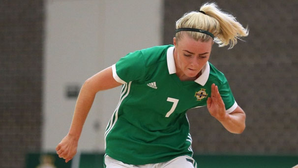 NI women's futsal team register first competitive wi...