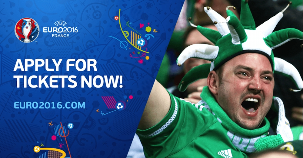 UEFA EURO 2016 - Apply for tickets now!