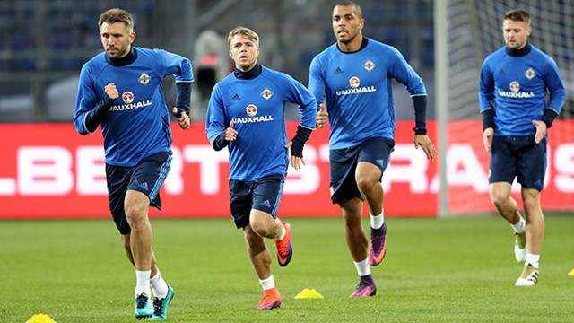 Pictures Northern Ireland Prepare For Germany Test In Hannover
