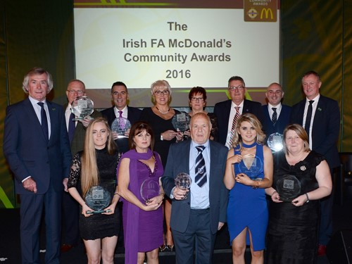 All of the McDonald's IFA Community Awards Winners